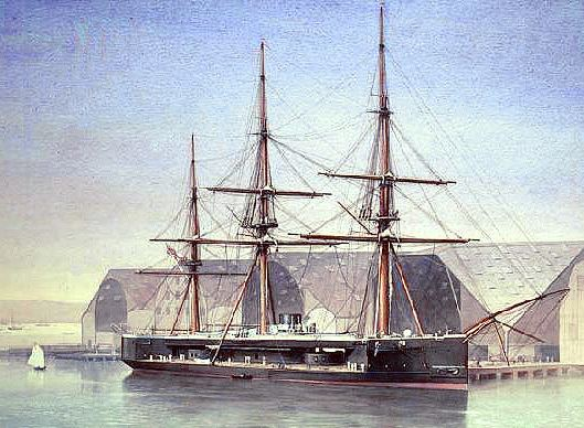 HMS Captain (1869) Wreck of HMS Captain the first Royal Navy steampowered