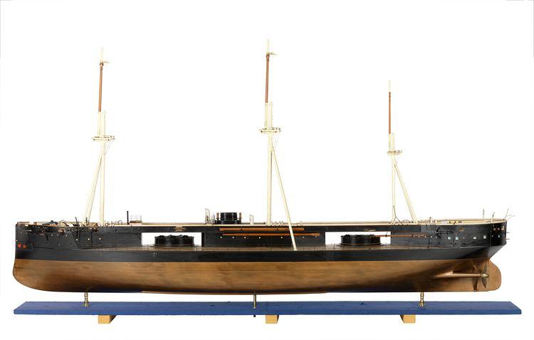 HMS Captain (1869) HMS Captain 1869 Warship Turret ship National Maritime Museum