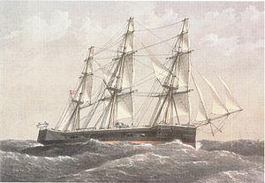 HMS Captain (1869) HMS Captain 1869 Wikipedia