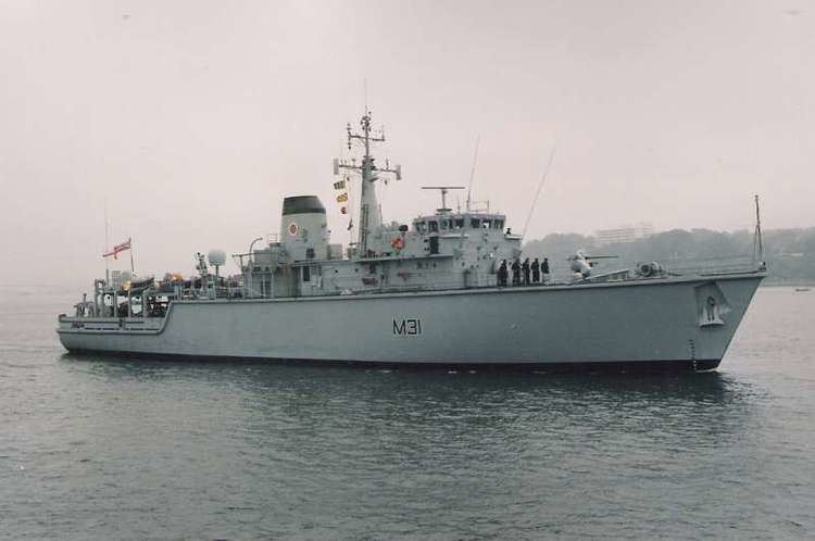 HMS Cattistock (M31) HMS Cattistock M31 ShipSpottingcom Ship Photos and Ship Tracker
