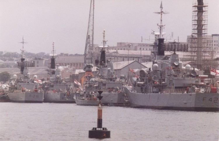 HMS Cleopatra (F28) HMS Phoebe F42 amp HMS Cleopatra F28 ShipSpottingcom Ship Photos