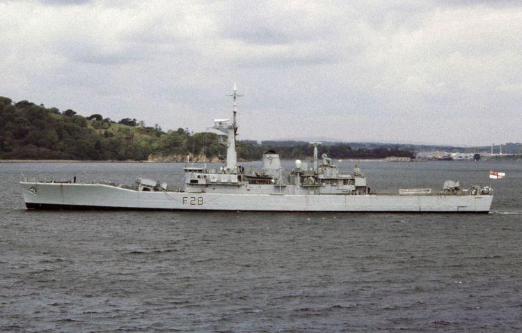 HMS Cleopatra (F28) HMS Cleopatra F28 ShipSpottingcom Ship Photos and Ship Tracker