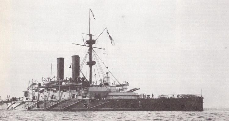 HMS Collingwood (1882) httpsuploadwikimediaorgwikipediacommonsdd