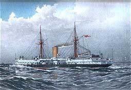 HMS Colossus (1882) httpsuploadwikimediaorgwikipediacommons55