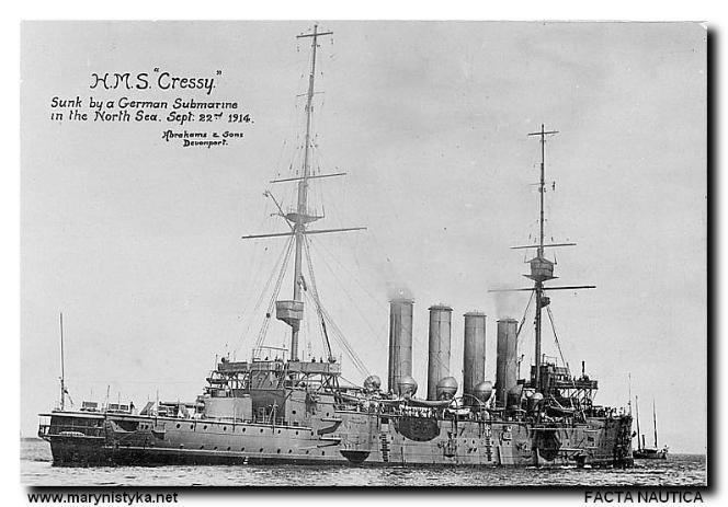 HMS Cressy (1899) Sunk Three Times in an Hour Beachcombing39s Bizarre History Blog