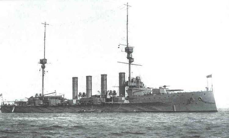 HMS Defence (1907) Wreck Info