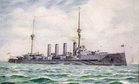 Image result for HMS Defence (1907)