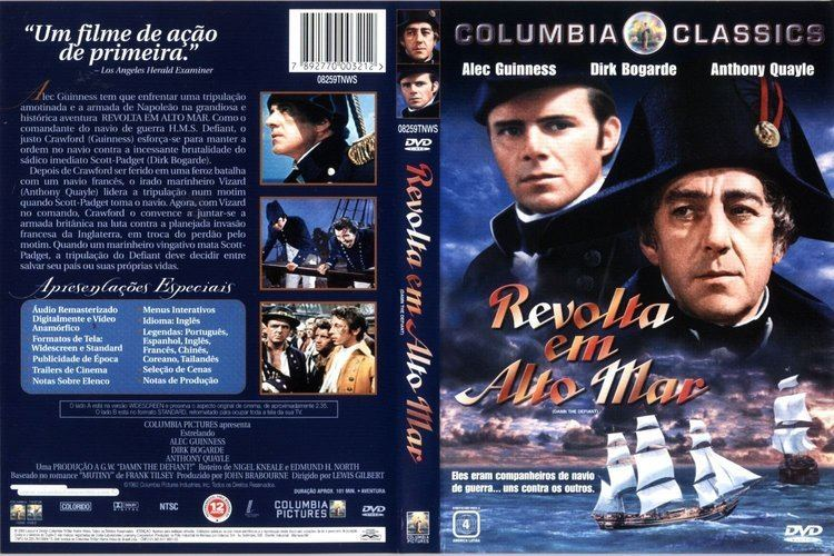 H.M.S. Defiant COVERSBOXSK HMS Defiant 1962 high quality DVD Blueray