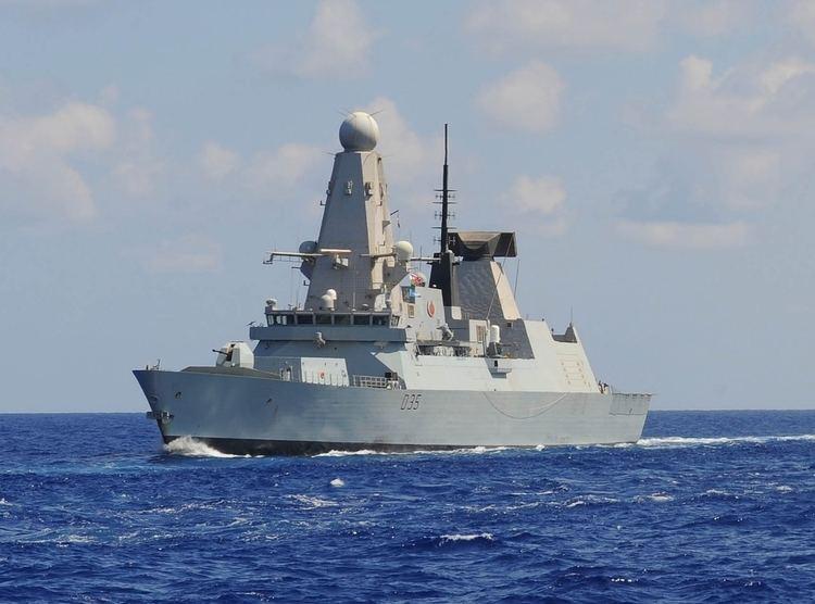HMS Dragon (D35) HMS Dragon D35 Wikipedia