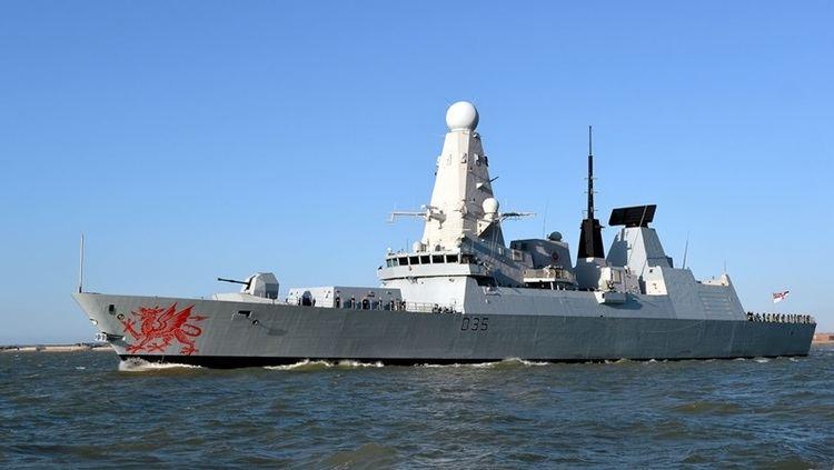 HMS Dragon (D35) HMS Dragon D35 Royal Navy