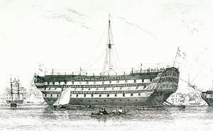 HMS Dreadnought (1801) httpsuploadwikimediaorgwikipediacommonsthu