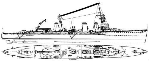 HMS Emerald (D66) TheBlueprintscom Blueprints gt Ships gt Cruisers UK gt HMS