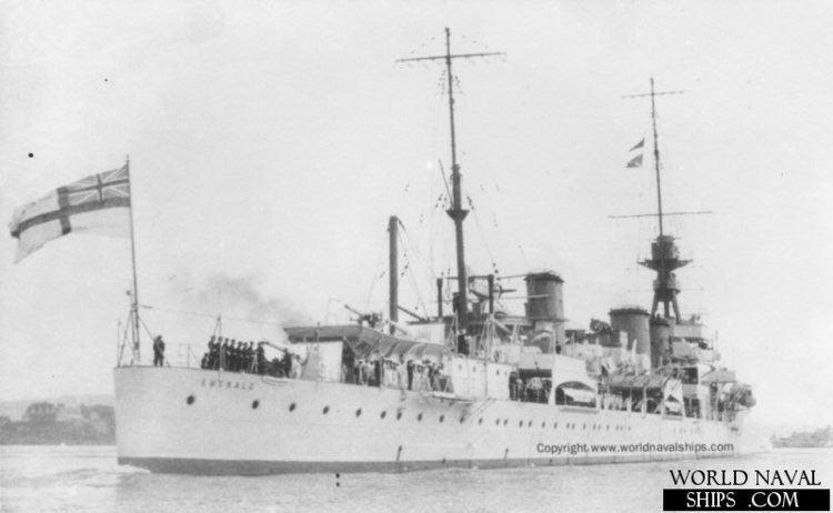 HMS Emerald (D66) HMS Emerald World Naval Ships Directory