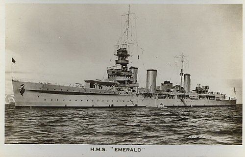 HMS Emerald (D66) HMS Emerald