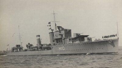 HMS Encounter (H10) HMS Encounter