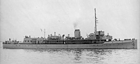 HMS Gipsy (H63) village during the wars