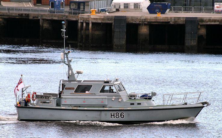 HMS Gleaner (H86) HMS Roebuck