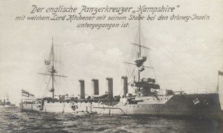 HMS Hampshire (1903) Devonshire Class Cruisers of the Royal Navy