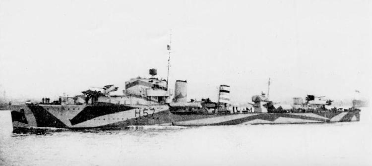 HMS Hesperus (H57) HMS Hesperus destroyer