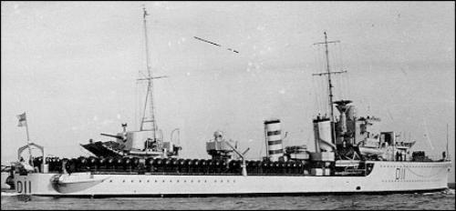 HMS Impulsive (D11) uboatnetmediaallieswarshipsbrddhmsimpulsiv