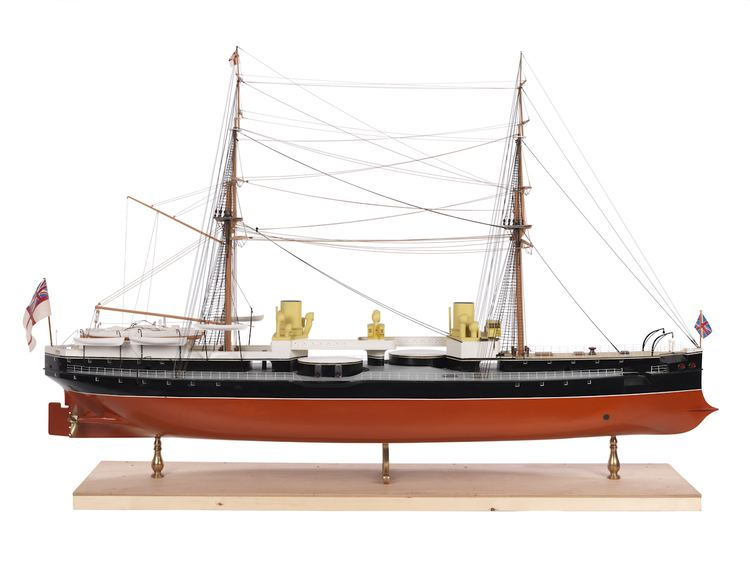HMS Inflexible (1876) HMS Inflexible1876 Warship Battleship National Maritime Museum