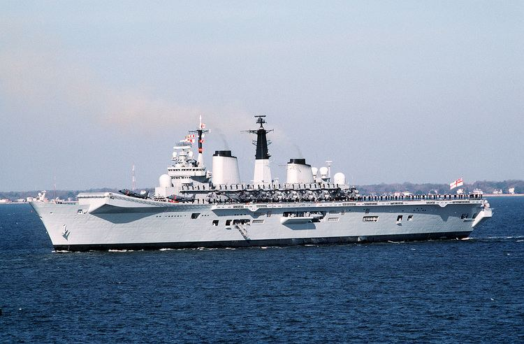 HMS Invincible (R05) FileHMS Invincible R05 Norfolkjpg Wikimedia Commons