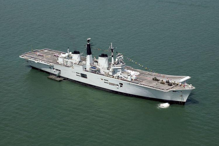 HMS Invincible (R05) FileHMS Invincible During T200 Celebrations MOD 45144681jpg