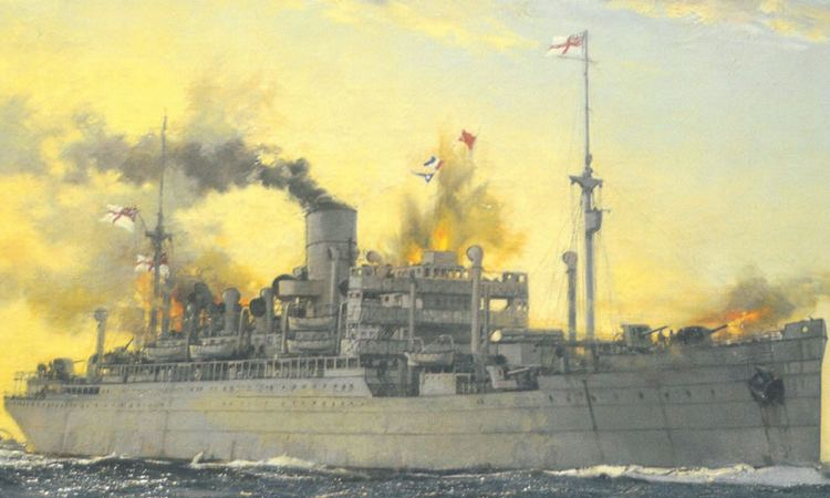 HMS Jervis Bay HMSJervisBayjpg