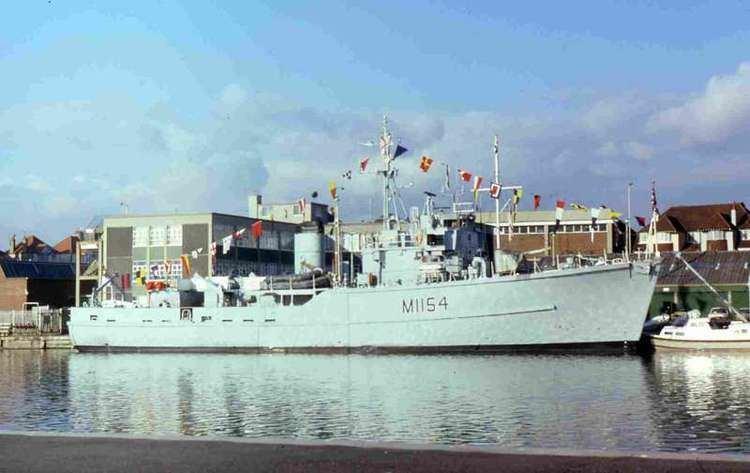 HMS Kellington (M1154) HMS Kellington M1154 ShipSpottingcom Ship Photos and Ship Tracker
