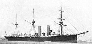 HMS Leander (1882) httpsuploadwikimediaorgwikipediacommonsthu