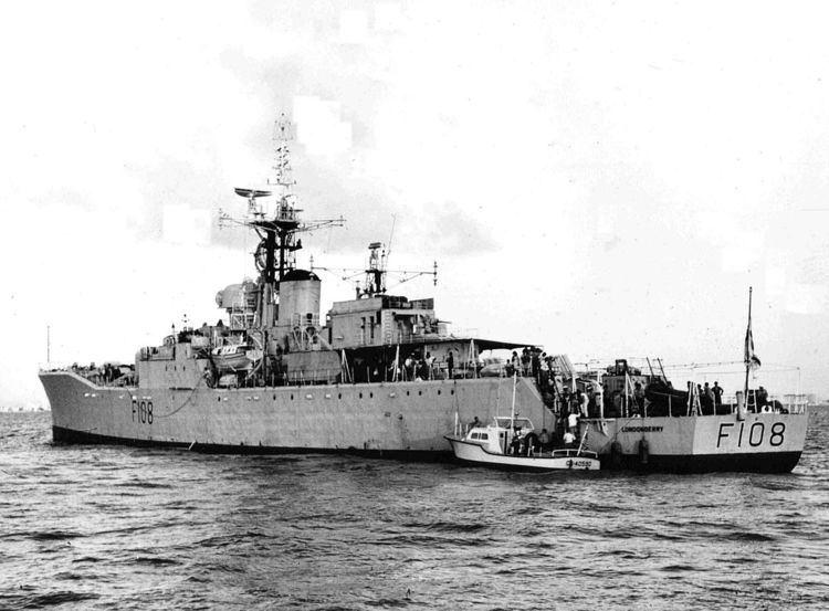 HMS Londonderry (F108) HMS Londonderry F108 Wikipedia