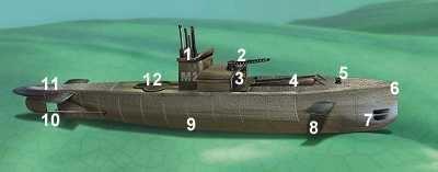 HMS M2 Wreck Tour 5 The M2
