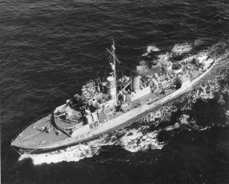 HMS Mallow (K81)