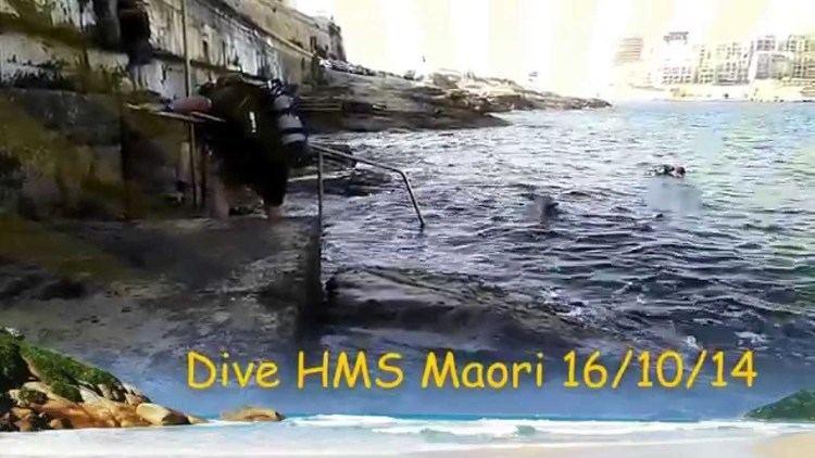 HMS Maori (F24) Maiden City SAC dive HMS Maori Malta YouTube