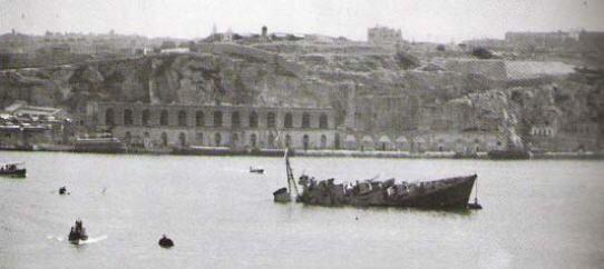 HMS Maori (F24) AquaVentureMalta HMS Maori Destroyer Wreck Valletta Malta
