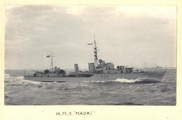 HMS Maori (F24) HMS Maori destroyer