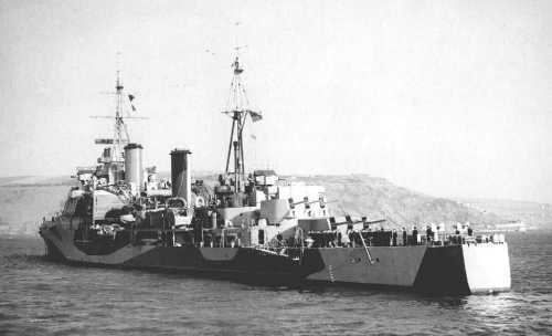 HMS Mauritius (80) HMS Mauritius 80 of the Royal Navy British Light cruiser of the