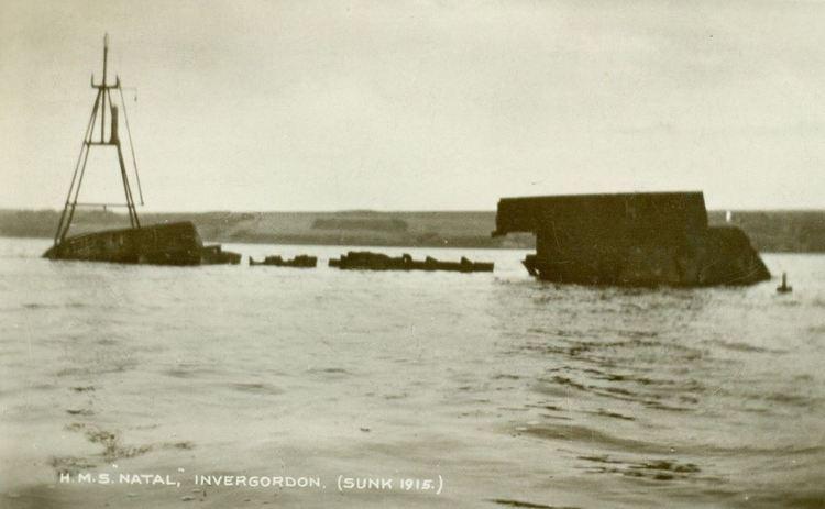 HMS Natal HMS NATAL Durban Memorial 100th Anniversary Graham Leslie McCallum