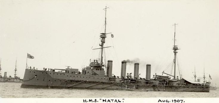 HMS Natal Cromarty Image Library HMS Natal August 1907