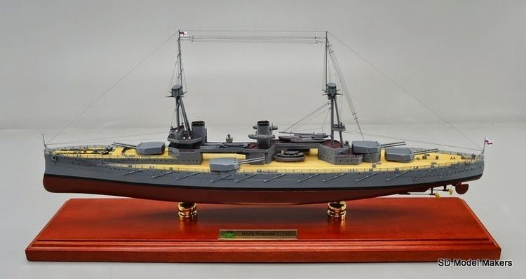 HMS Neptune (1909) 234 1280 scale HMS Neptune 1909 SD Model Makers
