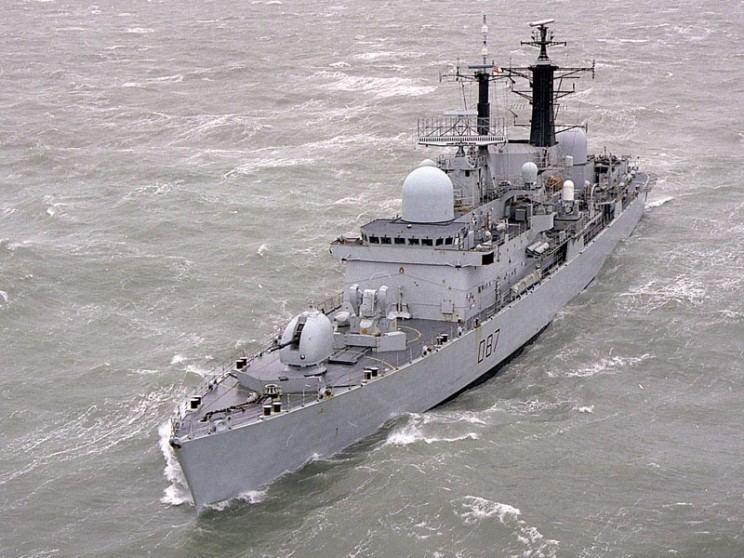 HMS Newcastle (D87) MaritimeQuest HMS Newcastle D87