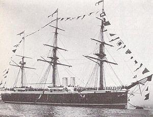 HMS Northampton (1876) httpsuploadwikimediaorgwikipediacommonsthu
