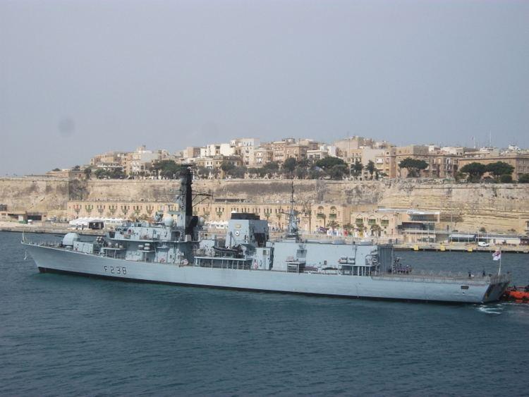 HMS Northumberland (F238) HMS Northumberland F238 ShipSpottingcom Ship Photos and Ship