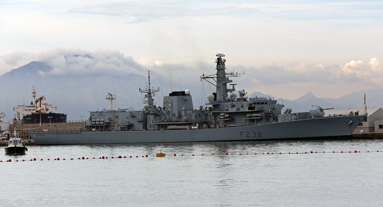 HMS Northumberland (F238) FileHMS Northumberland F238 at the South Mole HM Naval Base