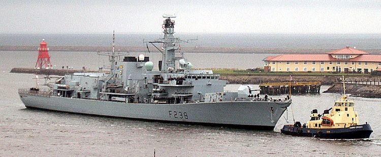 HMS Northumberland (F238) HMSNorthumberlandjpg