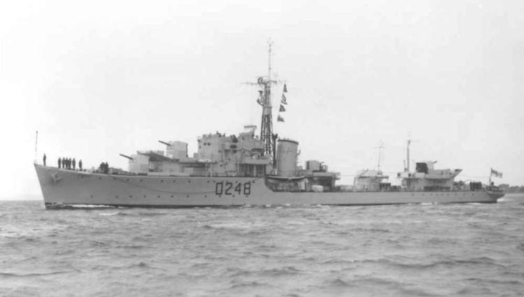 HMS Obedient (G48) wwwnavalhistorynetPhoto10ddObedient1NPMarkTead