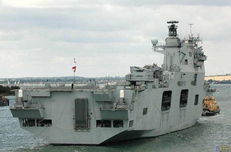 HMS Ocean (L12) HMS OCEAN L12 IMO 9079456 Callsign GCOU ShipSpottingcom