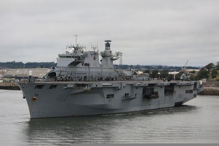 HMS Ocean (L12) Ocean Class LPH Wrightys Warships