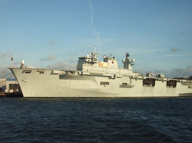HMS Ocean (L12) FileHMS Ocean L12jpg Wikimedia Commons
