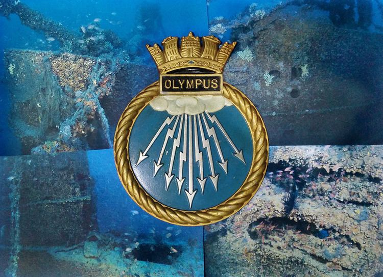HMS Olympus (N35) HMS Olympus a historical note UBoat